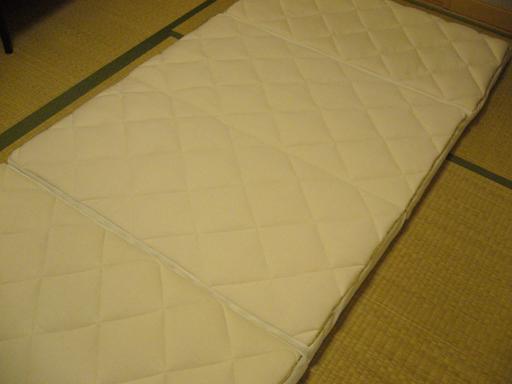 4つ折り敷布団