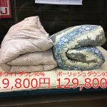 羽毛布団の価格の差について