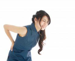 腰痛持ちの女性