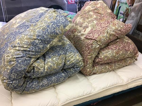 羽毛布団のリサイズ