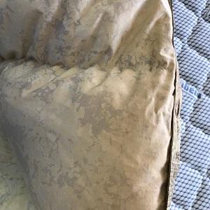 生地が汚れた布団